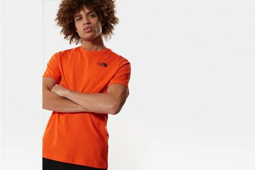 Camiseta The North Face RED BOX naranja