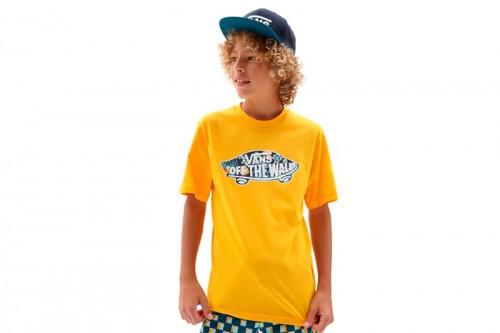 Camiseta Vans OTW LOGO FILL Amarilla