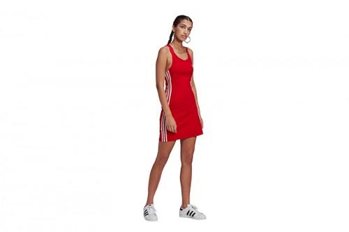 Vestido adidas RACER B DRESS Rojas