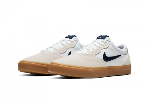 Zapatillas Nike SB Chron Solarsoft Blancas
