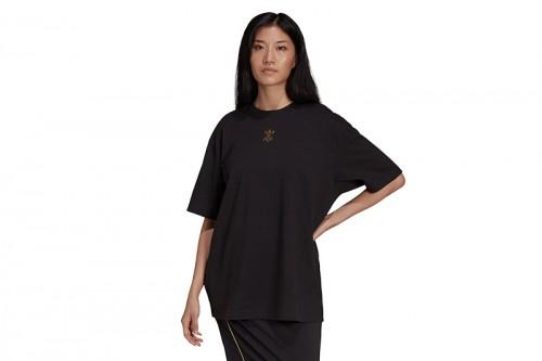 Camiseta adidas SS negra