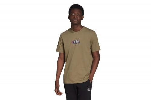 Camiseta adidas TRF A33 marrón