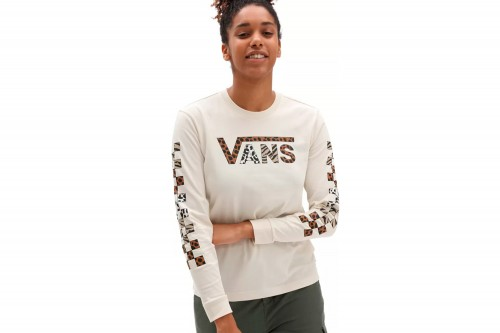 Camiseta Vans YODELZ blanca