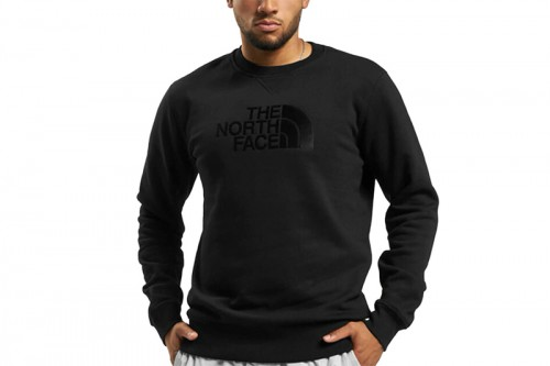 Sudadera The North Face M DREW PEAK CREW LT negra