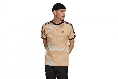 Camiseta adidas CAMO AOP CALI T marrón