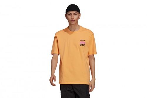 Camiseta adidas ADV MNT BACK TE naranja