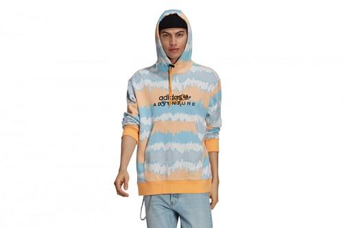 Sudadera adidas ADV AOP HOODY Multicolor