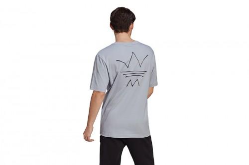 Camiseta adidas ABSTRACT OG TEE gris