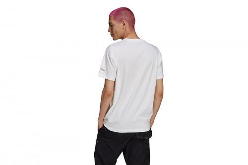 Camiseta adidas LOS SIMPSONS SQUISHEE blanca