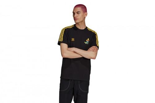 Camiseta adidas LOS SIMPSONS 3S negra