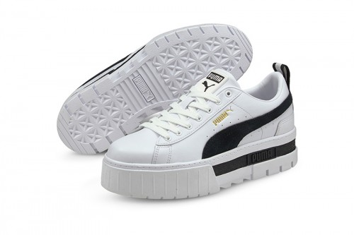 Zapatillas Puma MAYZE LEATHER DUA LIPA Blancas
