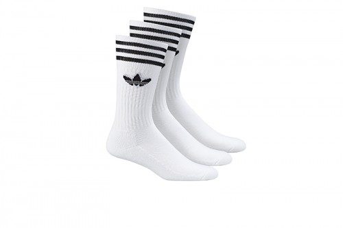 Calcetines adidas SOLID CREW SOCK blancos