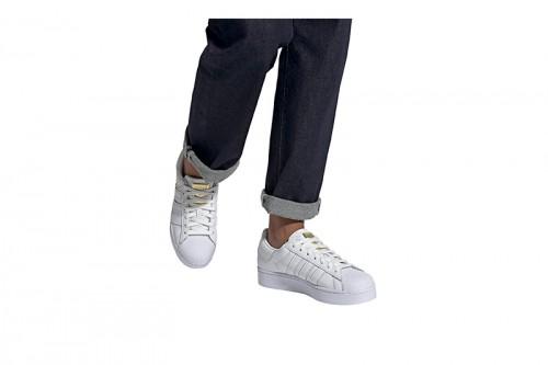 Zapatillas adidas SUPERSTAR BOLD W Blancas