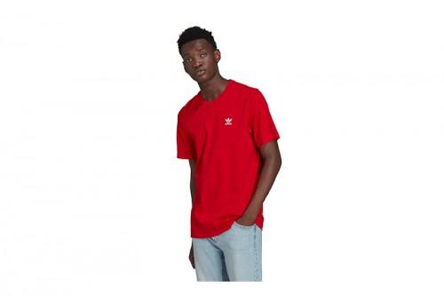 Camiseta adidas ADICOLOR ESSENTIALS TREFOIL roja