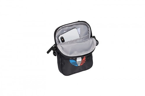 Bolso adidas TRICOL FEST BAG negro