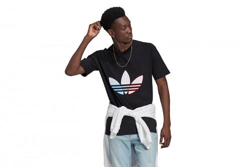Camiseta adidas TRICOL TEE negra