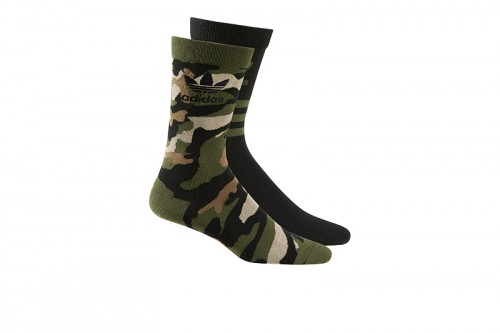 Calcetines adidas CAMO CREW SOCK Camuflaje