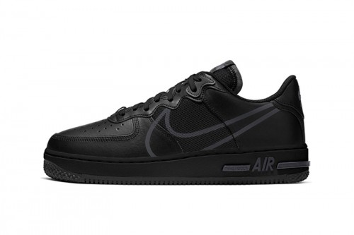 Zapatillas Nike Air Force 1 React Negras