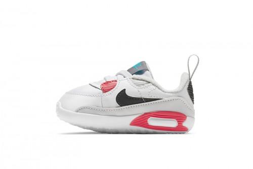 Zapatillas Nike Max 90 Crib Baby Bootie Blancas