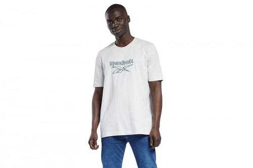 Camiseta Reebok Classics Vector gris