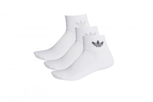 Calcetines adidas MID CUT blancos
