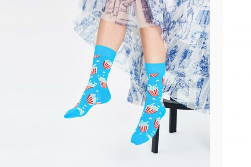 Calcetines Happy Socks POPCORN SOCK Multicolor