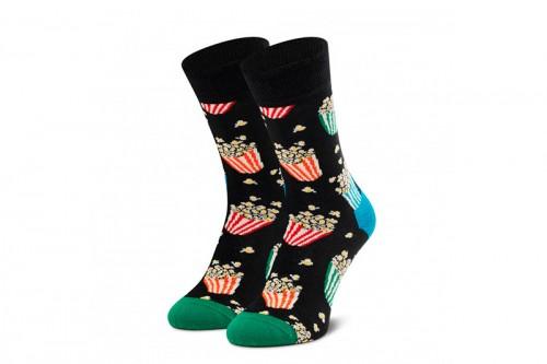 Calcetines Happy Socks POPCORN SOCK negros
