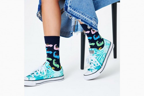 Calcetines Happy Socks STRONG SOCK negros