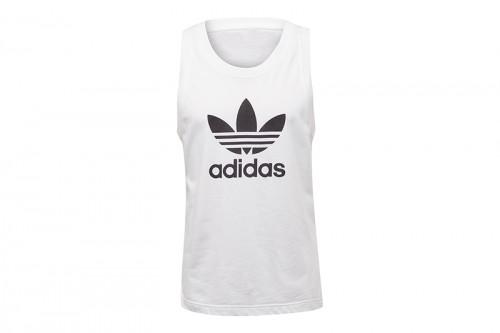 Camiseta adidas SIN MANGAS TREFOIL Blanca