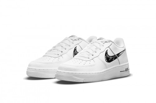 Zapatillas Nike AIR FORCE 1 LOW GS Blancas