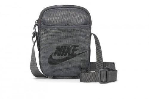 Bolso Nike Heritage Gris