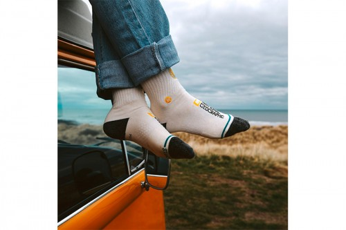 Calcetines Stance EXPLORERS PATCH blancos