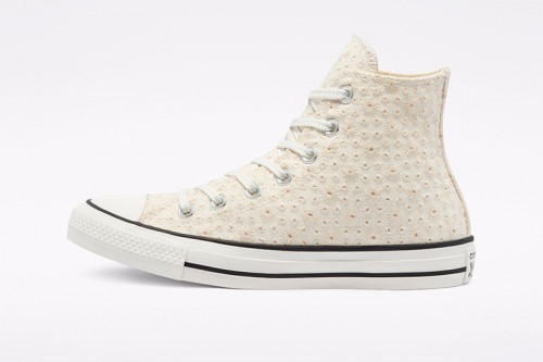 Zapatillas Converse Canvas Broderie Chuck Taylor All Star High Top Beiges