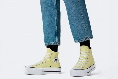 Zapatillas Converse Chuck Taylor All Star Lift Amarillas