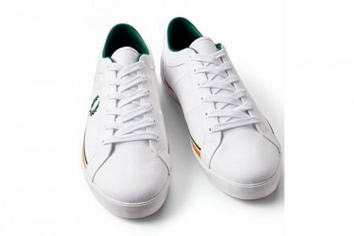 Zapatillas Fred Perry BASELINE Blancas