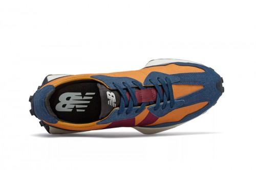 Zapatillas New Balance 327 Indigo Azules Marino