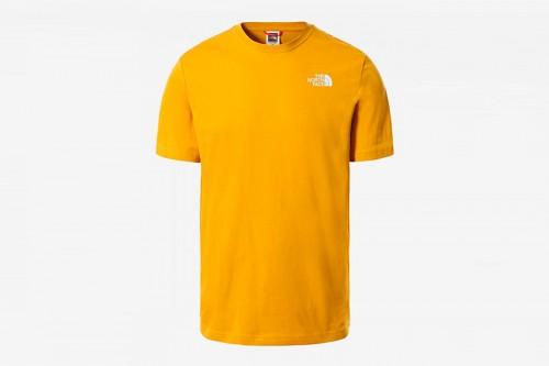 Camiseta The North Face RED BOX amarilla