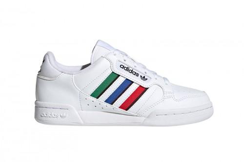 Zapatillas adidas CONTINENTAL 80 STRIPES J Blancas