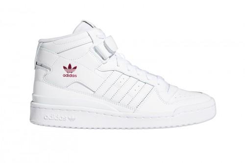 Zapatillas adidas FORUM MID Blancas