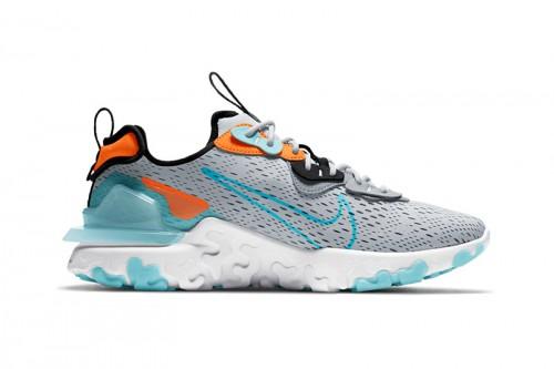Zapatillas Nike React Vision Grises