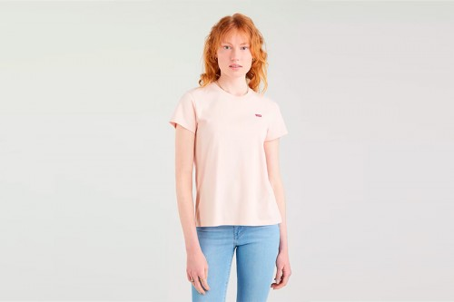 Camiseta Levi's THE PERFECT Rosa