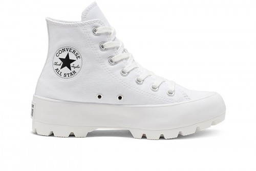 Zapatillas Converse CHUCK TAYLOR ALL STAR LUGGED HIGH TOP Blancas