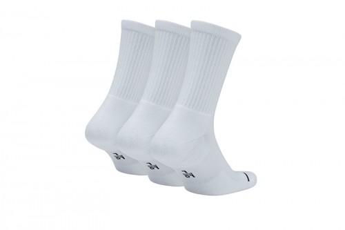 Calcetines Nike Unisex Jordan Jumpman Crew Calcetines (3 Pack) Blancas