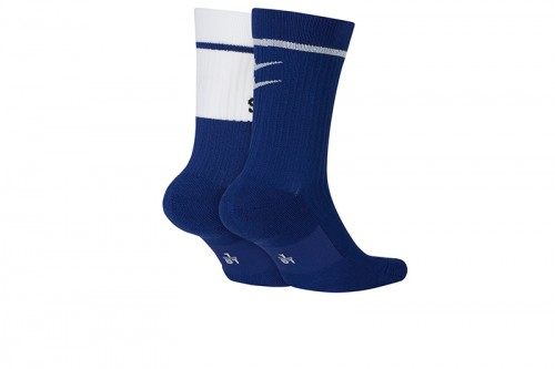Calcetines Nike SNKR Sox Swoosh Azules