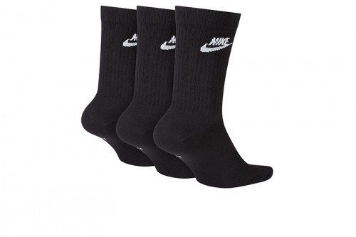 Calcetines Nike Sportswear Everyday Essential negros