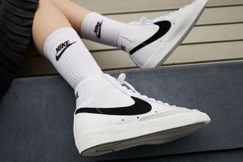 Zapatillas Nike Blazer Mid'77 Blancas