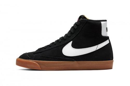 Zapatillas Nike Blazer Mid'77 Suede Negras
