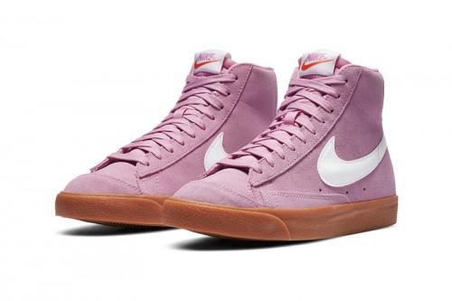 Zapatillas Nike Blazer Mid '77 Suede Rosas