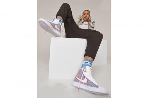 Zapatillas Nike BLAZER MID'77 Grises