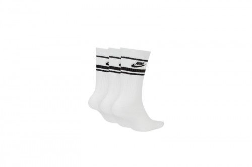 Calcetines Nike Sportswear Essential Crew blancos